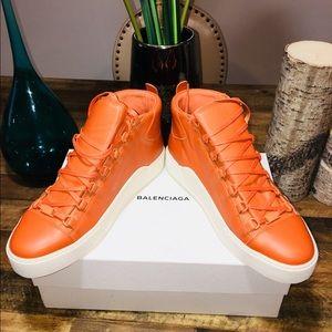 NWT Balenciaga Men Arena Sneakers 100% Authentic